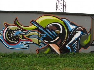 Graffiti 24 by Antarant