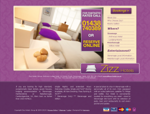 Zizz Hotels for high standard accommodation of exceptional cleanliness in Herts and Cambs_1277845470892