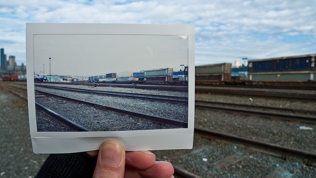 Tracks - Instax Windows by Slightlynorth on Flickr