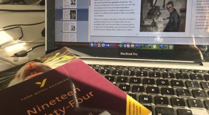Creating a 1984 Companion eBook