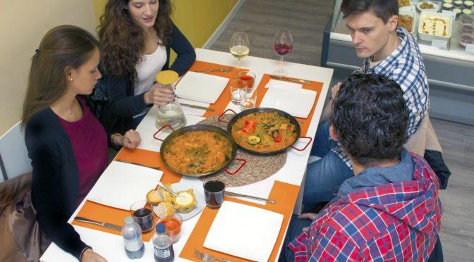 A Spanish Dining scene