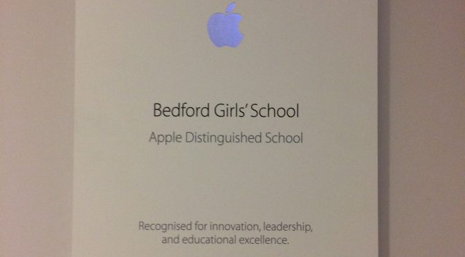 Apple Distinguished School!