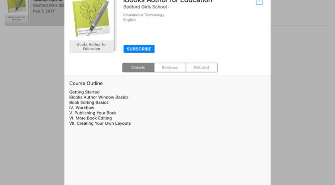 #ClassroomClips – iBooks Author